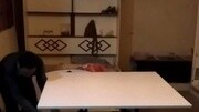 折叠升降茶几桌18673717777