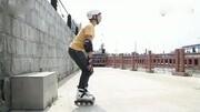【入门初学轮滑溜冰鞋教程_02】站立与摔倒