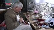 手工布鞋百元一双:7旬老人坚持做鞋五十载