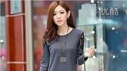 2014秋冬装新款韩版潮大码女装宽松蝙蝠衫上衣 长袖女士t恤打底衫
