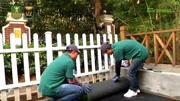 景观休闲人工草皮铺装方法-CCG共创人造草