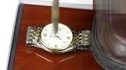 冠琴正品 包邮 间金男表 休闲商务手表 自动机械表