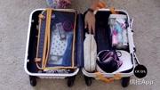 女神必备的行李箱收纳大法,这样打包行李箱能多装3倍东西!