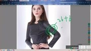服装裁剪教程服装打板服装纸样服装制版-V领红色泡泡袖女衬衫-11