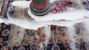 地毯泡沫机你见过吗?清洗过程很治愈!