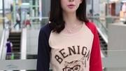 2014秋装新品大码女装韩版潮女士打底衫修身撞色印花t恤女长袖