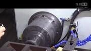 JASU H-630T卧式数控加工中心加工零件过程