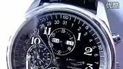 瑞士手表精钢带真皮带名匠8针万年历自动机械表男表