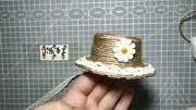 创意小手工,这么漂亮的草帽竟是一次性纸杯做出来的,赶快学起来
