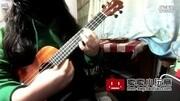 阳光下安静的猫 ukulele指弹独奏空之轨迹 心忆高端单板尤克里里