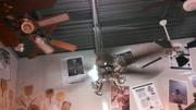 家园风II吊扇集成PAR聚光灯套件