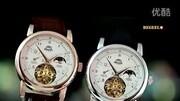 瑞士宾爵男士真钻自动机械手表商务真皮带男表陀飞轮设计186款商特