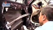 日产天籁安不安全?看车门防撞梁
