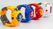 试玩奇趣玩具系列变形金刚版电子手表,又能计时又能变身