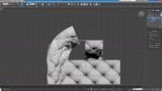 3DMAX现代沙发建模