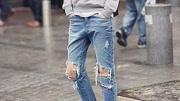 终于找到,旧裤剪成破洞牛仔裤的窍门!3个步骤点醒你,超省钱!