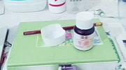 自制可撕拉指甲油(超级简单'白乳胶放少了,可以再放多一点'建议用水粉刷去涂'像素
