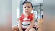【每日分享】(上衣 裤子)Augelute 夏款女宝宝无袖吊带短裤发带三件套0-3岁49¥