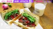 【小白食间】超满足低脂牛排三明治