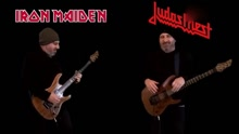 Iron Maiden VS Judas Priest 吉他 Riffs 战斗