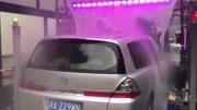高科技全自动洗车,全智能几乎不用人上手,看着太舒服了!