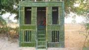 牛人小伙!用竹子建造出美丽的竹房子