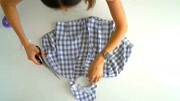 连衣裙制作教程 时尚达人一步一步教你自制小清新格子裙