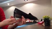 嘉力奴2016秋季新款女鞋浅口真皮英伦中跟粗跟单鞋时尚休闲鞋子女