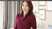 服装裁剪教程服装打板服装纸样服装制版-V领红色泡泡袖女衬衫-13