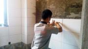 装修铺贴瓷砖的最高境界,瓷砖薄贴法,贴瓷砖我只服他!