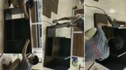 北欧风主管桌安装视频1