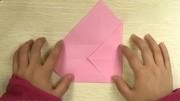 折纸教程 如何折漂亮的信纸(飞旋信纸)