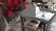 MJ-3异形石材磨边机操作演示 磨边机 方圆磨边机 石英石磨边机 岗石磨边机天然石大理石