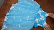 特别简单漂亮的女童仙女裙,学起来给家里的宝宝做一件吧!
