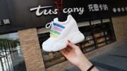 韩版厚底超高跟12CM内增高女鞋休闲运动鞋潮松糕鞋底单鞋
