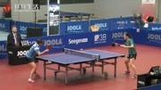 【乒乓生活】海外军团:中国传统直板单面正胶打法的单晓娜