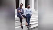 日常商务,西裤裤脚比较适合翻边和直筒。过于正式的场合则建议直筒。#西裤长度 #裤